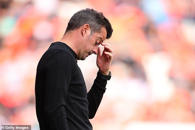 Marco Silva's side slipped to second with the defeat, their first after five games unbeaten