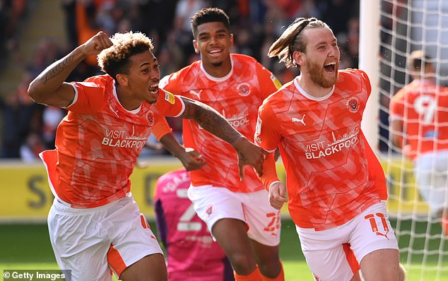 Blackpool stunned former Championship leaders Fulham with Josh Bowler firing in a 1-0 win