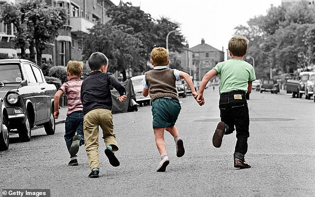 The year 1962 was especially safe for children, and we were allowed to roam the suburbs and the countryside quite unsupervised in a way that now seems utterly impossible (stock image)