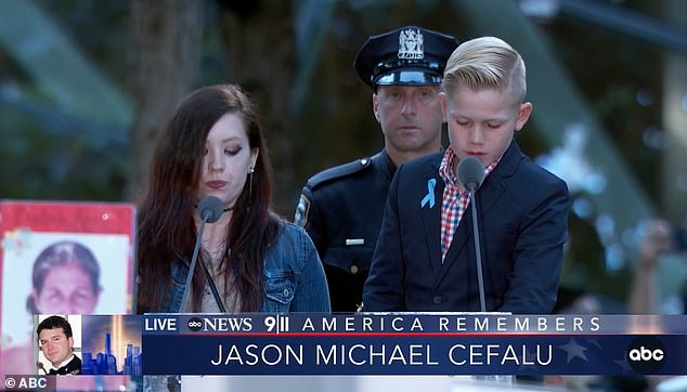 'I'm honored to carry your name, and I am living proof that life goes on' said the nephew of Robert G. Mclevan, who died in the 9/11 attacks