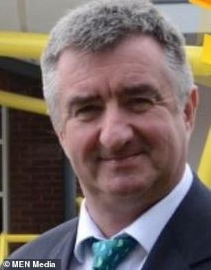 Headteacher Steve Marsland, 62, said the 19th century building may have to be knocked down completely