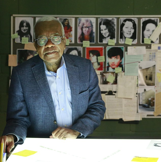 A team of investigators backed by an ITV documentary with Sir Trevor McDonald (pictured) are searching for the remains of up to 20 more victims of Fred and Rose West after the team discovered new evidence