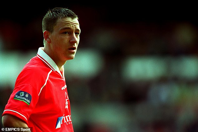 John Terry spent two months on loan at Nottingham Forest in the 1999-2000 season