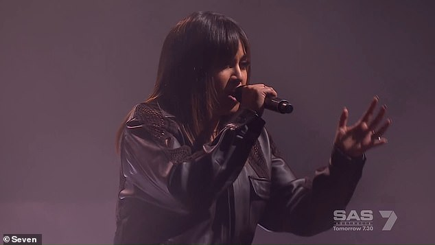 Criticism: 'Too bad Jess sung over the top and virtually shut him out of the song,' a fan wrote
