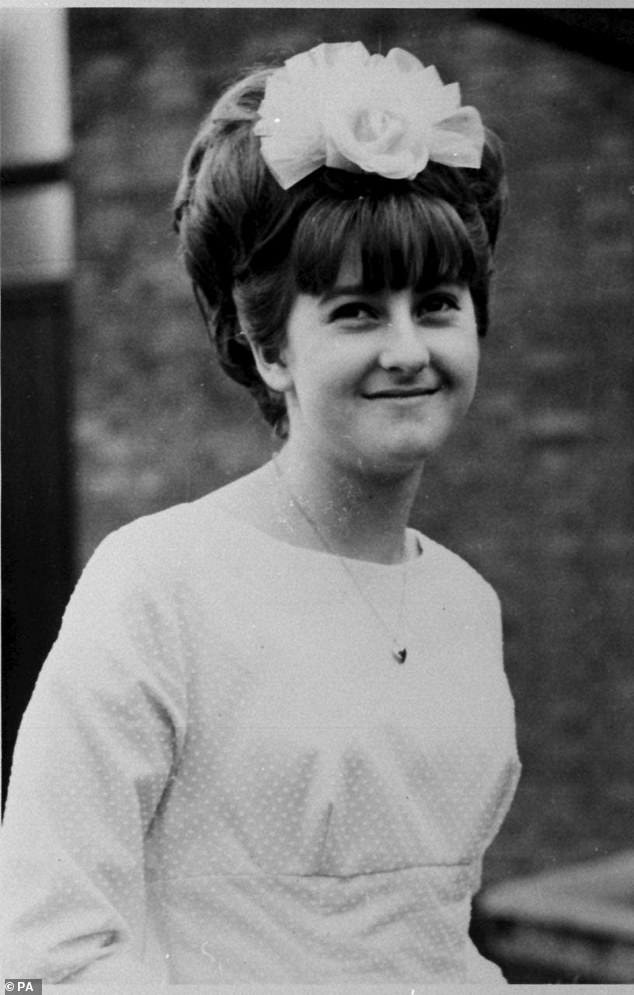 In May earlier this year, police spent at least £55,000 on the excavation of a cellar at a café in Gloucestershire where the TV documentary suggested Fred West may have buried missing schoolgirl Mary Bastholm (pictured)