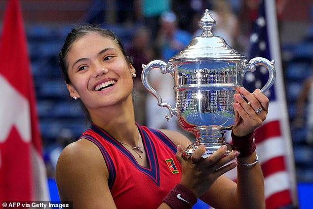 Emma Raducanu stunned the world of sport with her run to become US Open champion