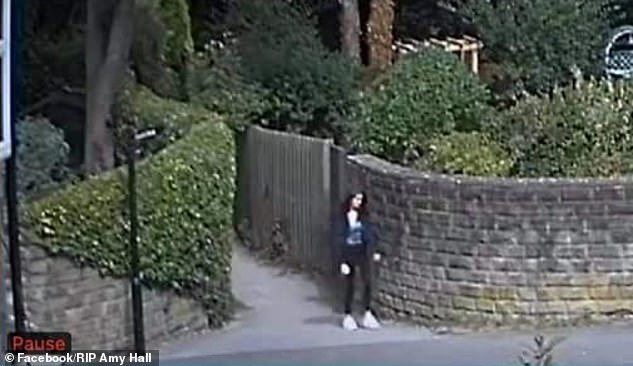 Footage seemed to show Amy leaving the May Queen field and walking on to Wood Lane, before heading towards the Sett Valley Trail near her home in Hayfield