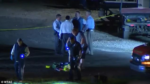 Allegheny County Police are looking for the alleged shooter who has been identified as a black teenager between 15 and 17 years old. He was last seen wearing a black shirt, dark blue cargo pants and a black backpack