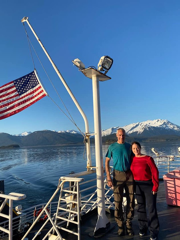 Days after her travel ban in April, Reinbold completed a 40-hour, 500-mile journey by car and ferry from her home district to the Alaska capital of Juneau