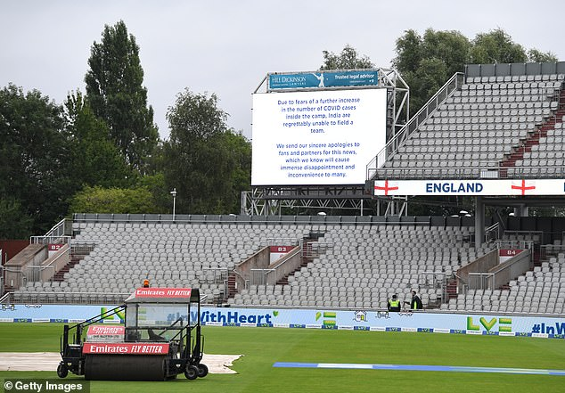The late cancellation of the fifth Test is expected to leave a £40m hole in the ECB's coffers