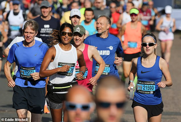 The Brighton Marathon made its comeback this morning after an 18-month gap due to coronavirus restrictions