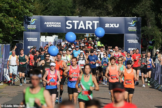 However, participants were left fuming when it emerged the course was not the recognised 26.2 miles in length, but rather some 26.5 miles - meaning the personal best times they were aiming for were affected