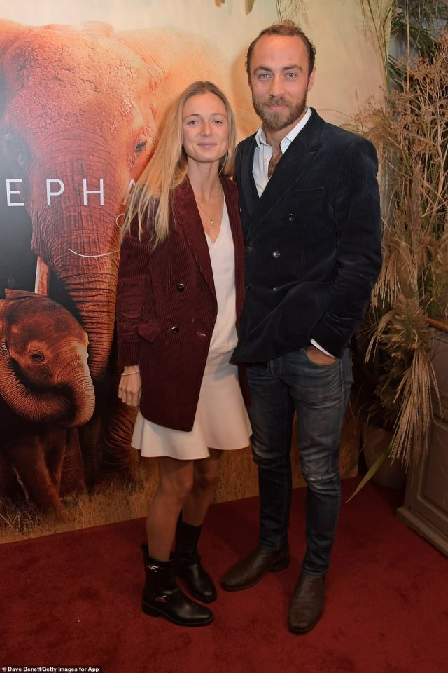 """The couple were last pictured together at the Bvlgari Magnifica Gala dinner at Spencer House in St James', London. Here they are pictured at the 2019 the London Premiere of Apple's acclaimed documentary """"The Elephant Queen"""""""