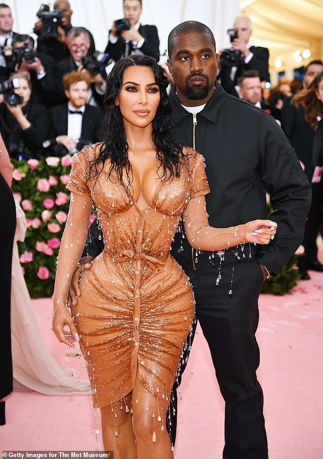 Met Gala: The former pair last walked the red carpet at the Met Gala together in 2019 as the 2020 event — which usually occurs in the spring —was cancelled due to the Covid-19 pandemic; pictured May 2019