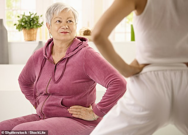 An anonymous reader asked Ing van Lotringen for advice on the best non-surgical treatments to make up her lower back (file image)