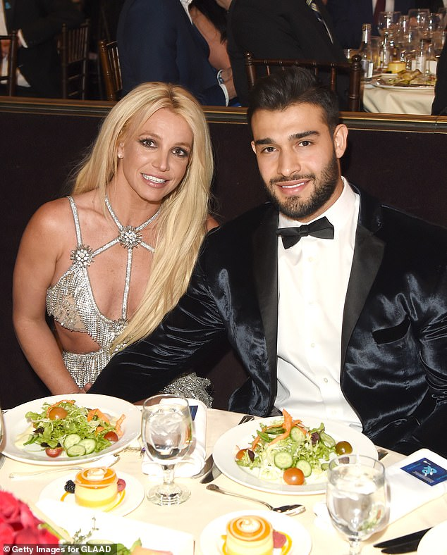 Growing family? Earlier this month, a source told Page Six that Sam hoped to start a family with Britney and stated that she might also be interested in the idea; seen together in 2018 in Beverly Hills