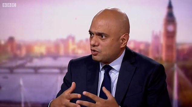 Yesterday Health Secretary Sajid Javid said Tory governments should try to keep tax rises as low as possible