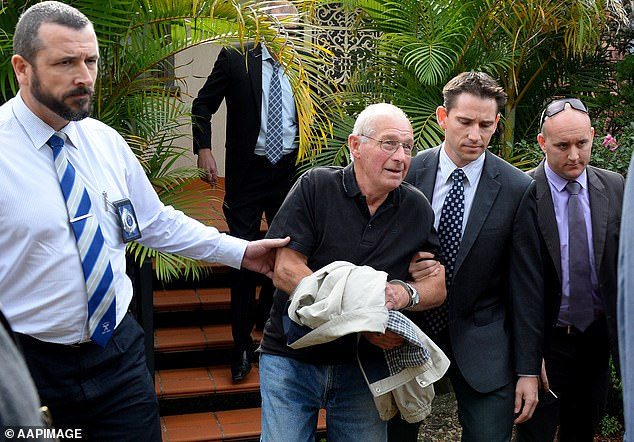 Smith's long relationship with the since disgraced detective sergeant Roger Rogerson caused both men ongoing difficulties. Rogerson (in handcuffs) is serving life for the murder of 20-year-old drug dealer Jamie Gao