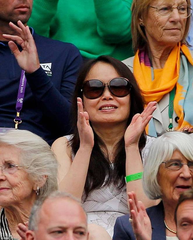 Emma Raducan's mother Renee attended her daughter's matches at Wimbledon earlier this summer