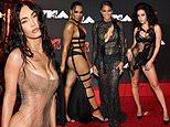 Megan Fox, Ciara, Ashanti and Charli XCX all opt for VERY racy ensembles at the MTV VMAs