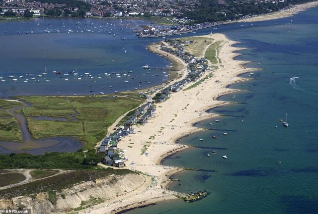 Would-be owners have to be cash buyers and have to stump up £4,500 a year to the local council in fees. Pictured: Mudeford