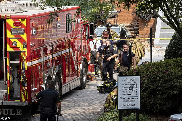 No one was killed, but four residents were taken to hospital with non-life threatening injuries