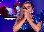 The Masked Singer judges after left shocked after a celebrity's mask falls off