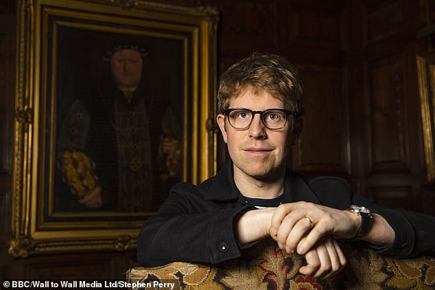 Interesting:Josh Widdicombe, 38, discovers an ancestor cut out of the family fortune and a courtier with intimate access to the King's commode