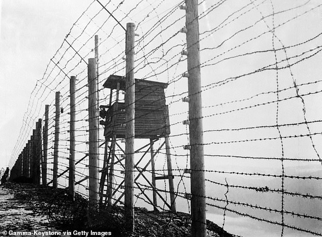 The RAF bombardier was taken to the Natzweiler-Struthof concentration camp where he was hanged