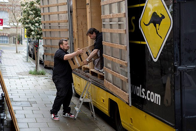 Top tips include making sure your eviction van can be parked outside your home on moving day