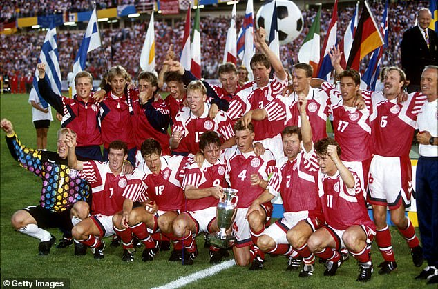 Denmark won the European Championships in 1992 despite not even properly qualifying for it