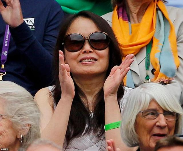 Emma Raducanu's mother Renee attended her daughter's matches at Wimbledon earlier this summer in July