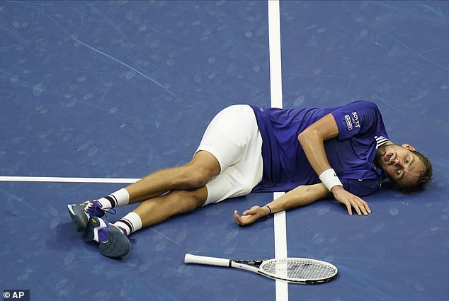 Eccentric Medvedev reversed his defeat to Djokovic in the Australian Open final in February