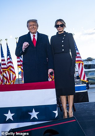 The Trumps on January 20, 2021