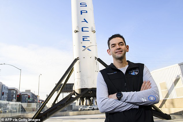 The mission, called Inspiration4, was purchased by billionaire Jared Isaacman, 38, who is the founder of Shift4 Payments.Issacman grew up in New Jersey and started dabbling in computer technical support and repair when he was just 14 years old