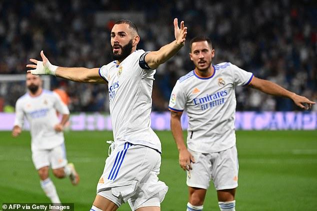 The 32-year-old missed Madrid's crushing victory against Celta Vigo on Sunday night