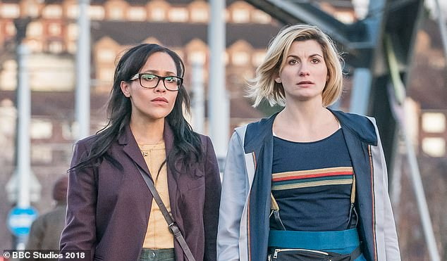 Starring role: Tanya is known to UK audiences for her role as of Dr Jade McIntyre in Doctor Who