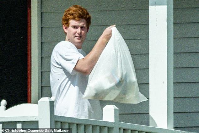 Exclusive DailyMail.com photos show Richard Alexander 'Buster' Murdaugh Jr. at the family's Edisto Island property in South Carolina