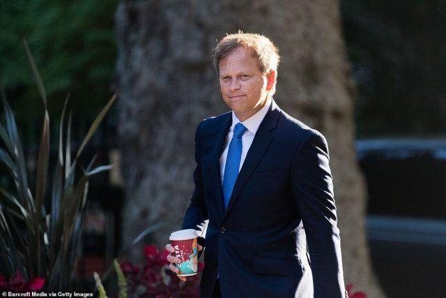 Whitehall officials are said to be developing a new system based on Covid vaccination status rather than the prevalence of the virus in other countries (pictured, Transport Secretary Grant Shapps)