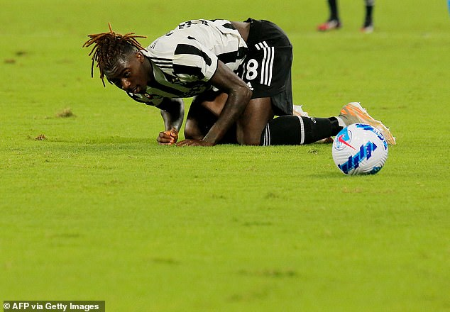 Moise Kean has returned to Turin keen to prove a point but has been ineffective so far
