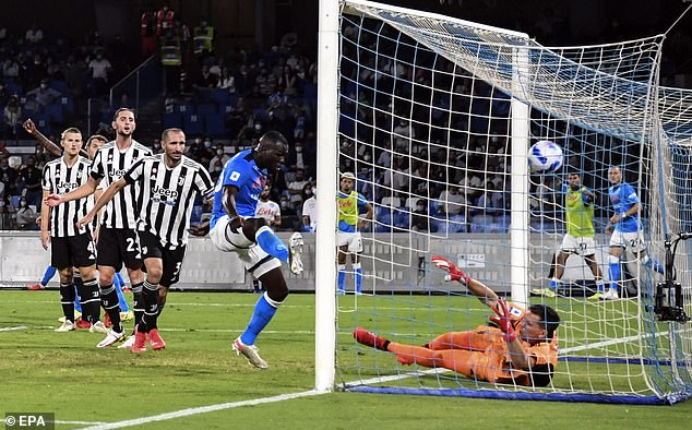 Kalidou Koulibaly was able to hammer the ball home from close range to win the contest