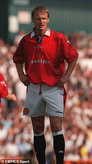 Teddy Sheringham's debut for Manchester United in 1997 came at the home of his former club Spurs