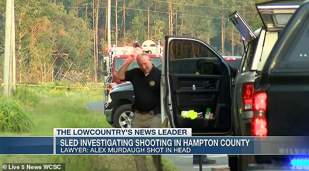 Hampton County police admitted they made a mistake during the initial investigation of the shooting, indicating in a police report that Murdaugh had no visible injuries after he was shot at the side of this South Carolina road