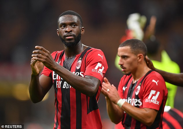 Fikayo Tomori will be at the heart of the AC Milan defence when they face Liverpool this week