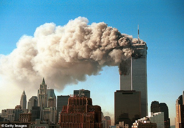 More than 2,600 people died when the twin towers collapsed on September 11, 2001