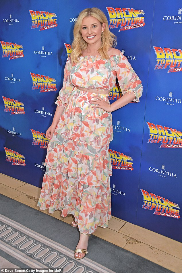 Also in attendance was Love Islands Amy Hart, the beauty looked summery in a floral ruffled skirt and matching crop top