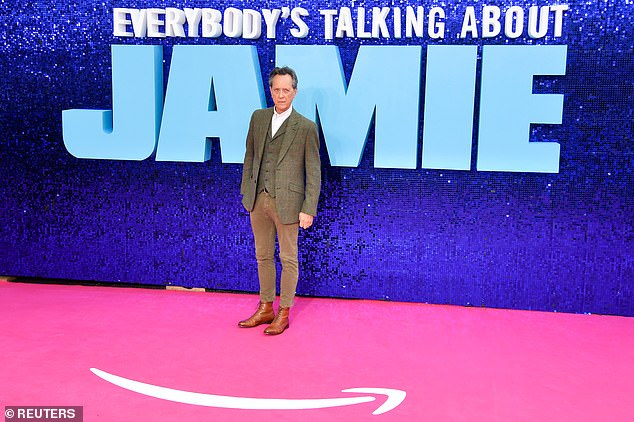 New role: Richard is playing a drag queen in the new Everybody's Talking About Jamie movie