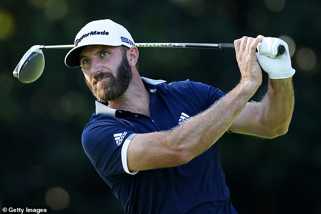 Dustin Johnson is just one of eight American players who make up the top 10 in the world