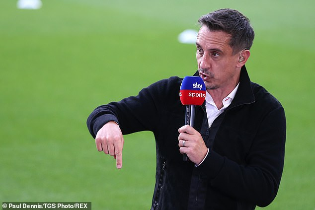 Gary Neville has claimed that Ronaldo is ahead of Lionel Messi as the greatest to play the game