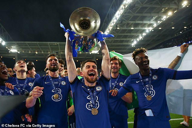 The Blues are now trying to defend the title they won in Porto in the final against Man City